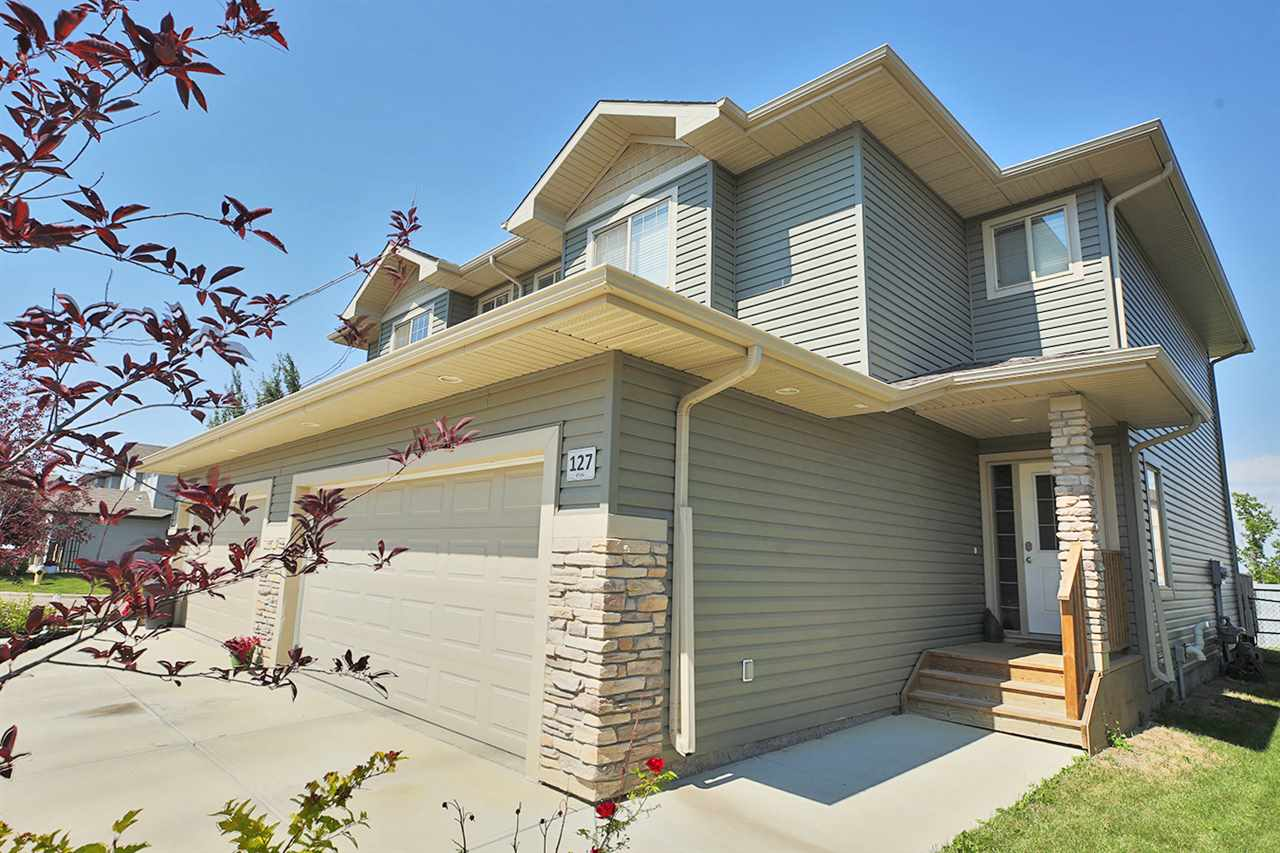 Main Photo: 127 8602 SOUTHFORT Boulevard: Fort Saskatchewan House Half Duplex for sale : MLS(r) # E4073048