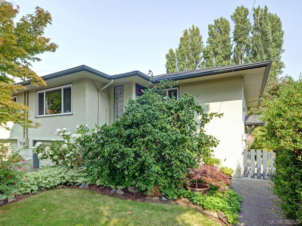 Main Photo: 1764 Chandler Avenue in VICTORIA: Vi Fairfield East Strata Duplex Unit for sale (Victoria)  : MLS® # 382222