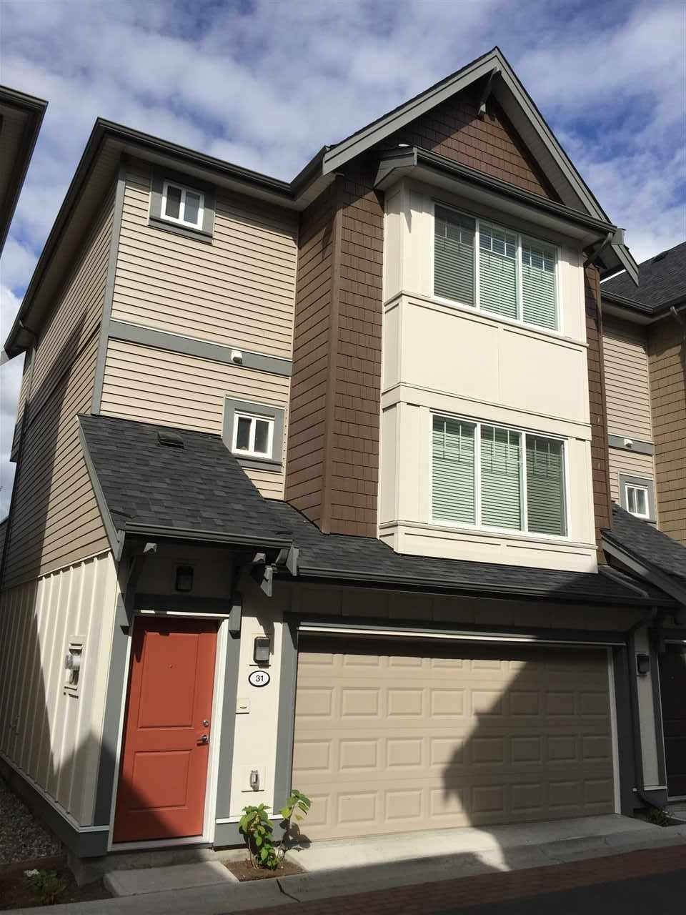 "Main Photo: 31 6971 122 Street in Surrey: West Newton Townhouse for sale in ""AURA"" : MLS®# R2208751"