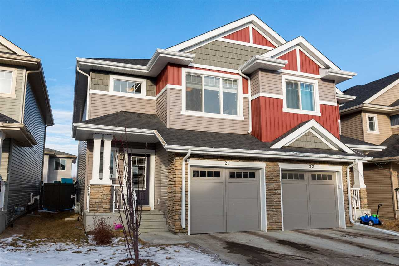 Main Photo: 21 2004 TRUMPETER Way in Edmonton: Zone 59 Townhouse for sale : MLS®# E4094298