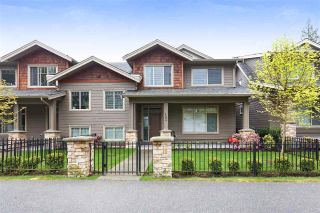 "Main Photo: 103 3450 DAVID Avenue in Coquitlam: Burke Mountain Townhouse for sale in ""Secret Ridge II"" : MLS®# R2288441"