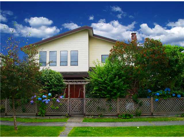 Main Photo: 2726 W 17TH Avenue in Vancouver: Arbutus House for sale (Vancouver West)  : MLS® # V902269