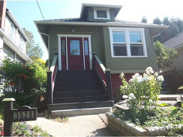 Main Photo: 3528 FLEMING Street in Vancouver: Knight House for sale (Vancouver East)  : MLS® # V913382