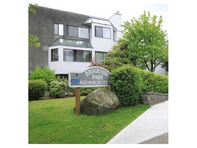 "Main Photo: 103 9620 MANCHESTER Drive in Burnaby: Cariboo Condo for sale in ""BROOKSIDE PARK"" (Burnaby North)  : MLS®# V1036806"