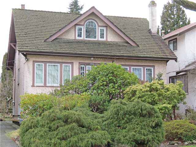 Main Photo: 2066 PARKER ST in Vancouver: Grandview VE House for sale (Vancouver East)  : MLS® # V1049152