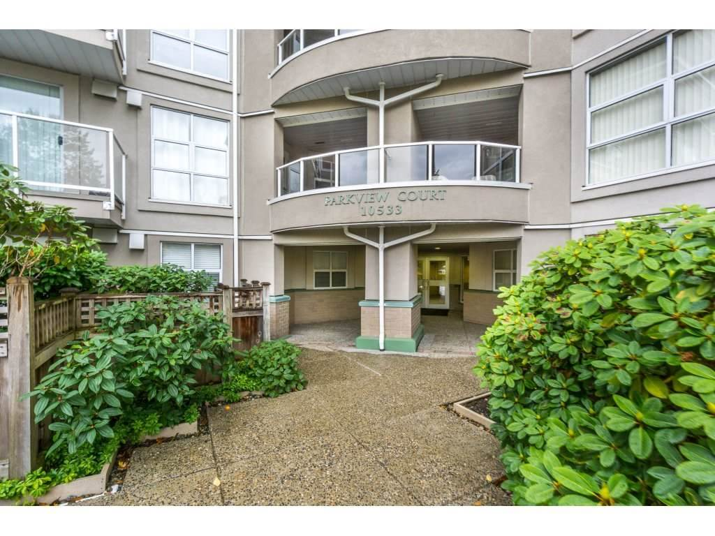 "Main Photo: 306 10533 UNIVERSITY Drive in Surrey: Whalley Condo for sale in ""PARKVIEW COURT"" (North Surrey)  : MLS® # R2135472"