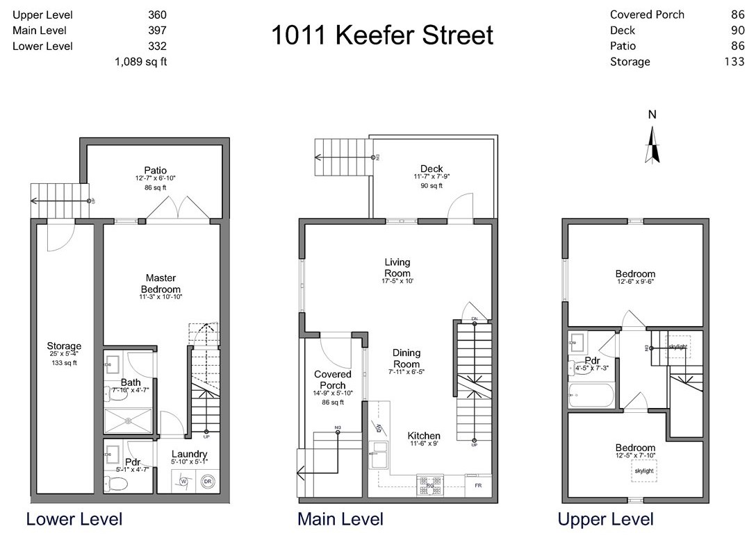 "Photo 17: 1011 KEEFER Street in Vancouver: Mount Pleasant VE House 1/2 Duplex for sale in ""Keefer Station"" (Vancouver East)  : MLS® # R2167678"