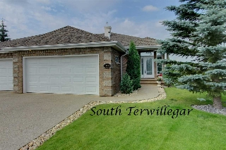 Main Photo: 6624 SANDIN Cove in Edmonton: Zone 14 House Half Duplex for sale : MLS® # E4073182