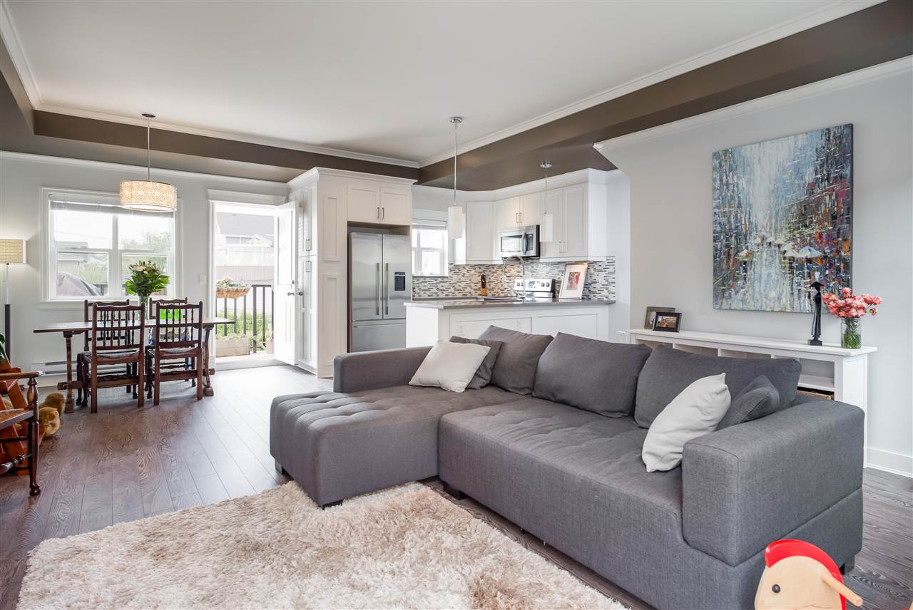 "Main Photo: 4333 KNIGHT Street in Vancouver: Knight Townhouse for sale in ""SIX HOMES"" (Vancouver East)  : MLS® # R2197076"