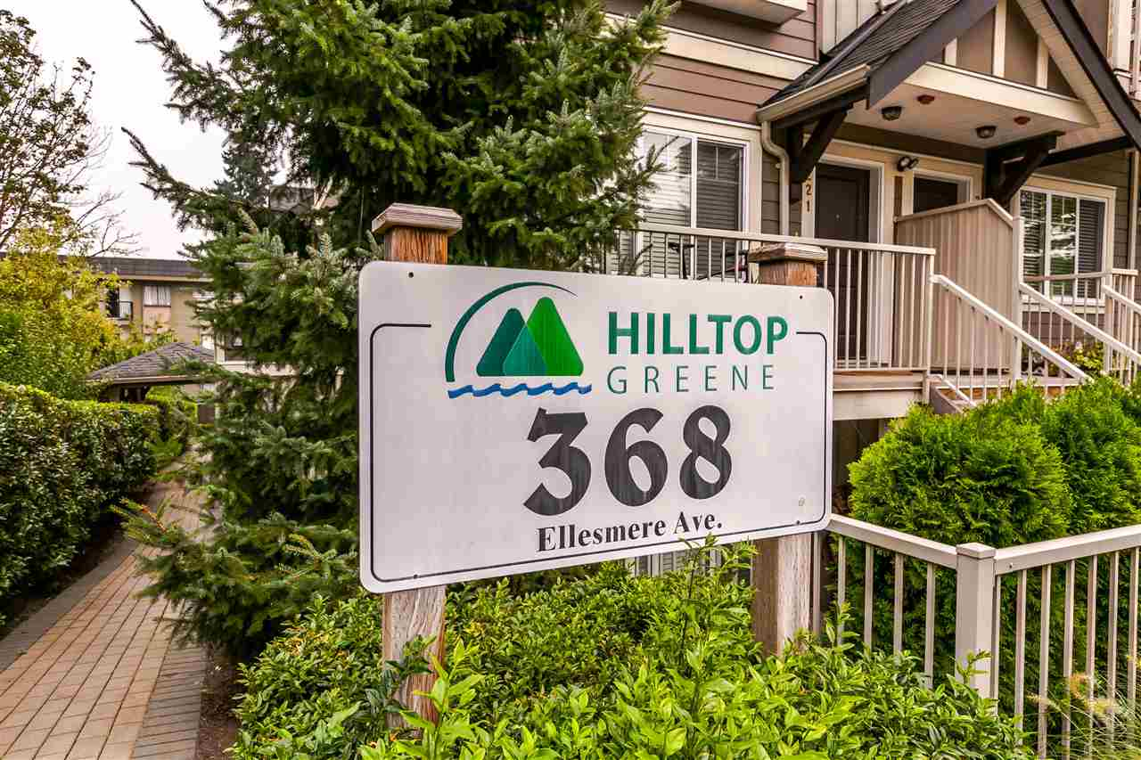 Main Photo: 227 368 ELLESMERE Avenue in Burnaby: Capitol Hill BN Townhouse for sale (Burnaby North)  : MLS® # R2204761
