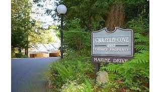 "Main Photo: 9 4957 MARINE Drive in West Vancouver: Olde Caulfeild Townhouse for sale in ""CAULFEILD COVE"" : MLS®# R2249440"