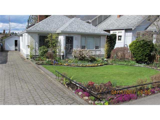 Main Photo: 311 DURHAM Street in New Westminster: GlenBrooke North House for sale : MLS®# V882066