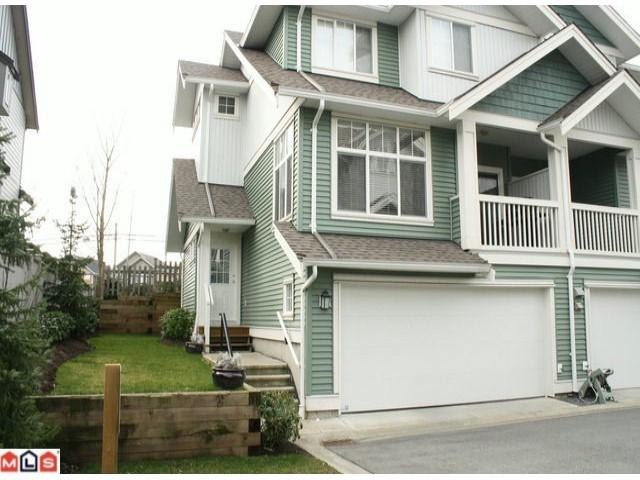 "Main Photo: 25 6785  193RD ST in Surrey: Clayton Townhouse for sale in ""Madrona"" (Cloverdale)  : MLS®# F1101562"