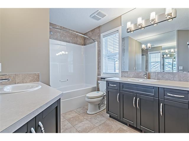 Spacious four piece upper floor main bathroom.