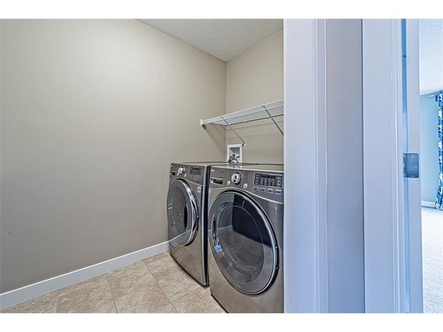 Upper laundry room.