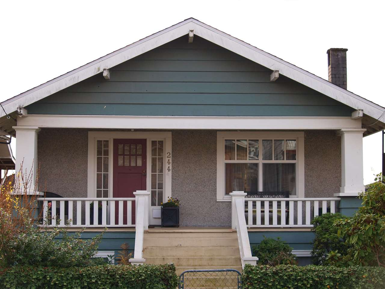 Charming bungalow with big front porch. Think warm summer evenings!