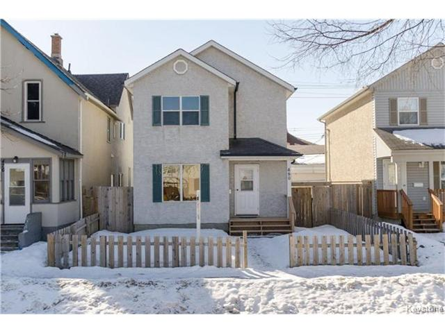 Main Photo: 480 Pritchard Avenue in Winnipeg: Residential for sale (4A)  : MLS® # 1704200