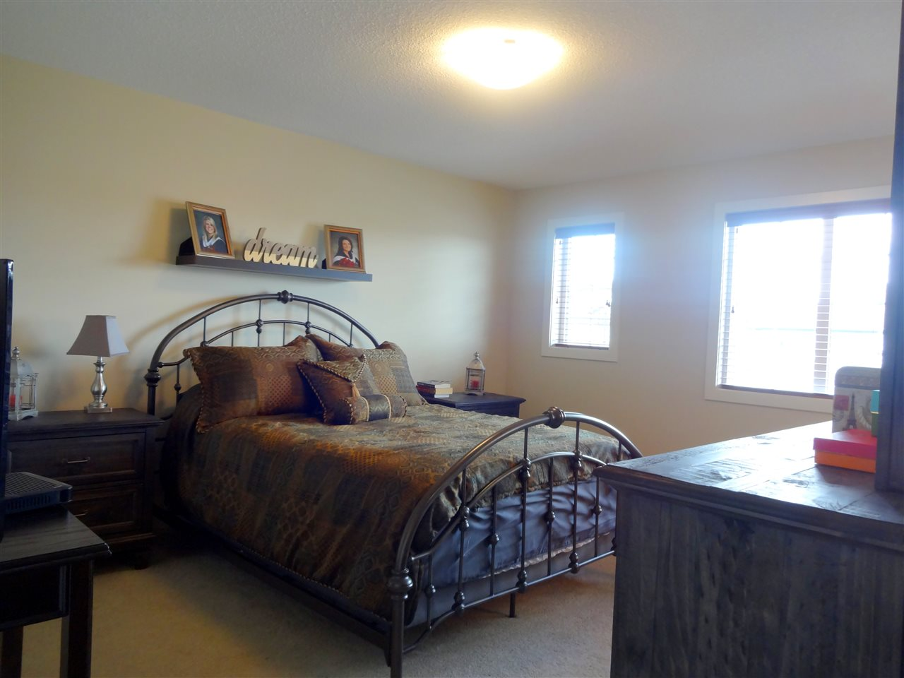 Very spacious Master Bedroom with abundance of room to accommodate big furniture pieces.