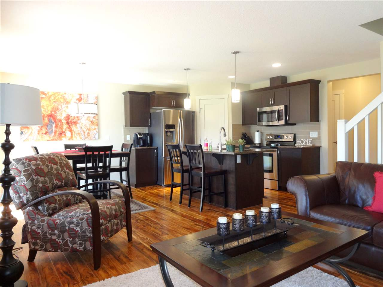Open concept = Kitchen, Dining and Living Room.  Perfect for entertaining.