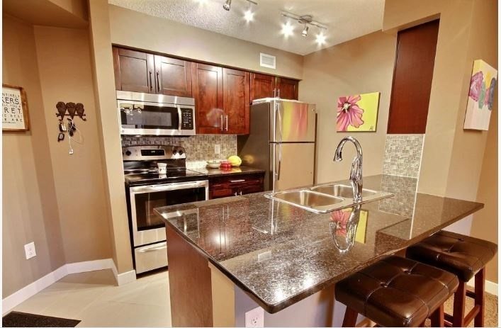 Photo 2: 108 270 MCCONACHIE Drive in Edmonton: Zone 03 Condo for sale : MLS® # E4075660