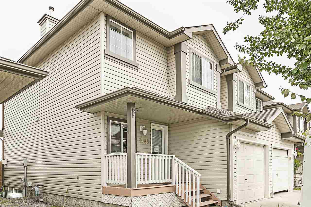 Main Photo: 7988 2 Avenue in Edmonton: Zone 53 House Half Duplex for sale : MLS® # E4078417