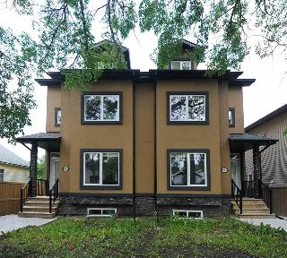 Main Photo: 10935 76 Avenue in Edmonton: Zone 15 House Half Duplex for sale : MLS® # E4084588
