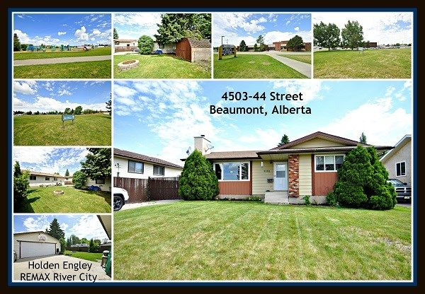 Main Photo: 4503 44 Street: Beaumont House for sale : MLS®# E4116874
