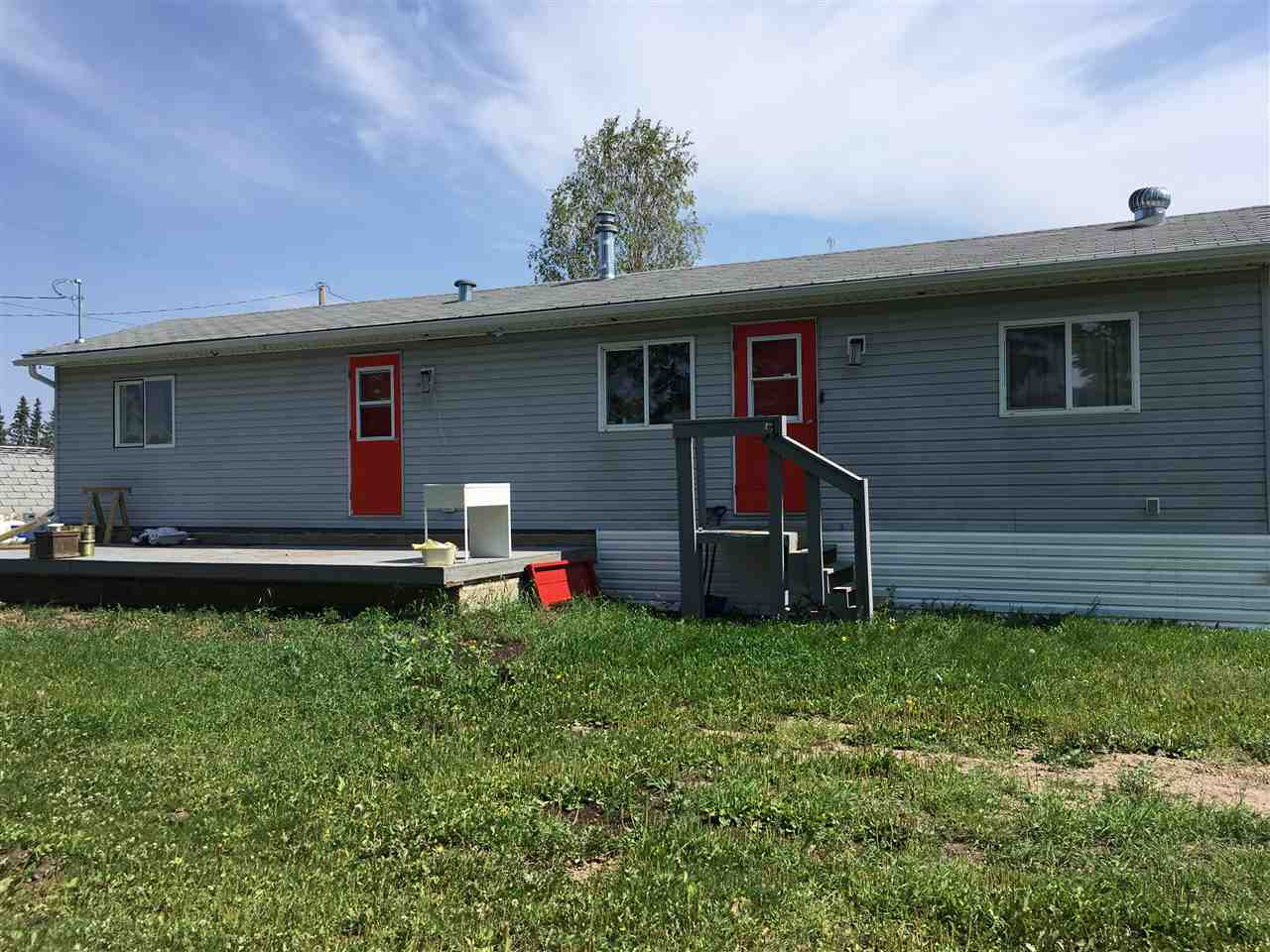 Main Photo: 5004 49 Avenue: Busby Manufactured Home for sale : MLS®# E4123196