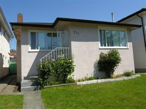 Main Photo: 273 East 57th Avenue in Vancouver: South Vancouver Home for sale ()