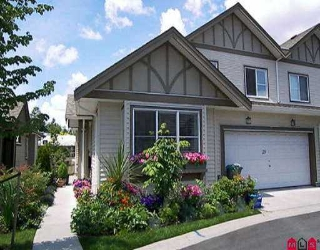 "Main Photo: 23 15868 85TH AV in Surrey: Fleetwood Tynehead Townhouse for sale in ""Chimney Heights"" : MLS®# F2613803"