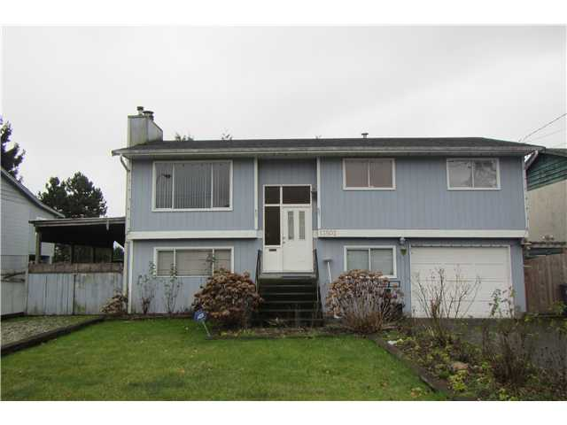 Main Photo: 13502 91ST Avenue in Surrey: Queen Mary Park Surrey House for sale : MLS® # F1430770