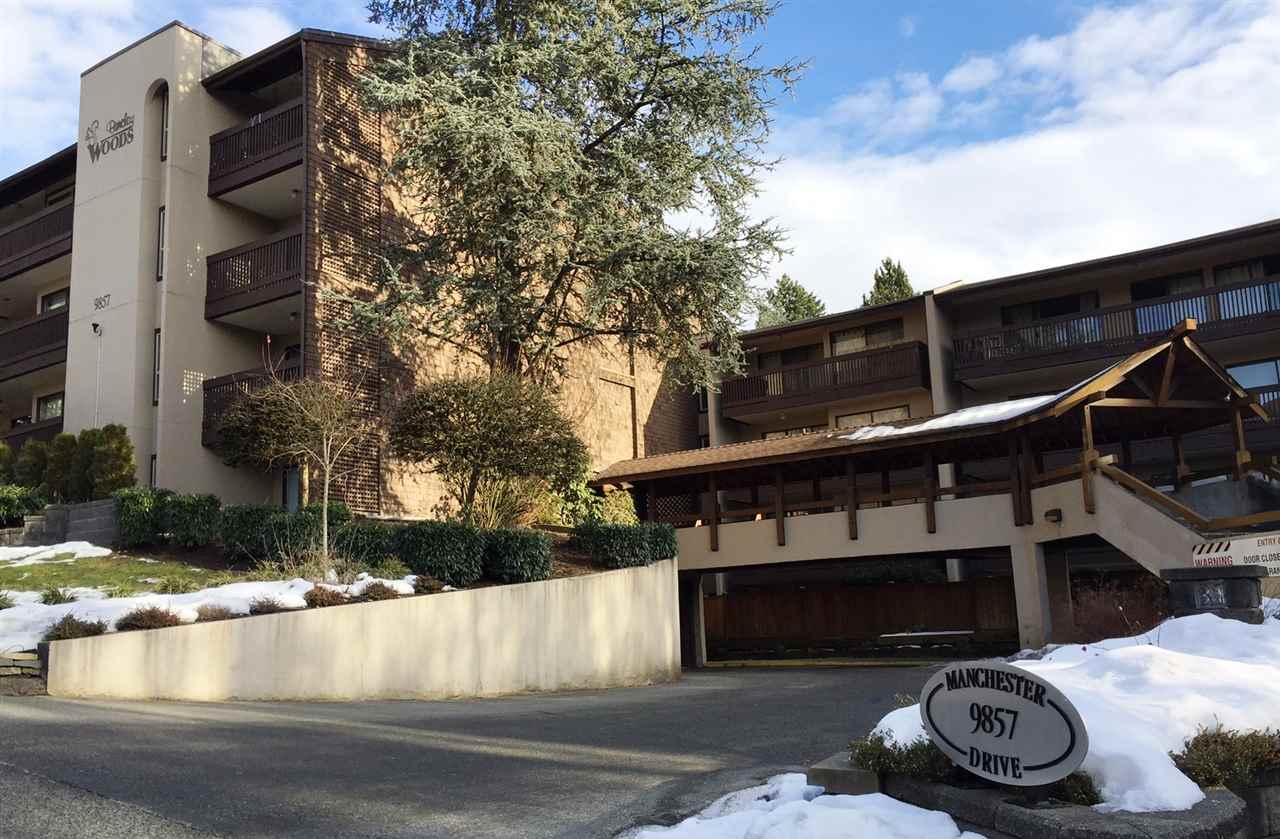 "Main Photo: 219 9857 MANCHESTER Drive in Burnaby: Cariboo Condo for sale in ""BARCLAY WOODS"" (Burnaby North)  : MLS® # R2132114"