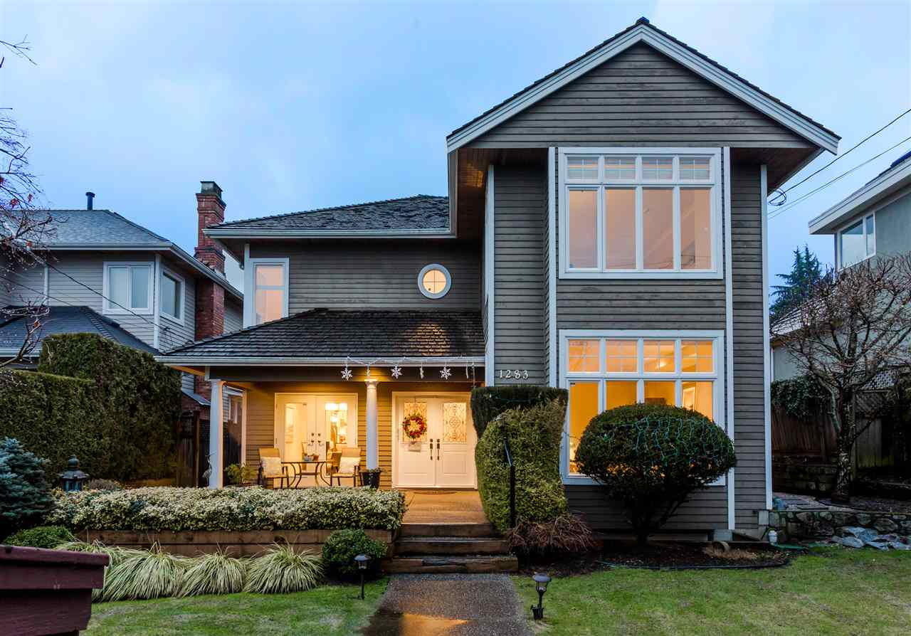 Main Photo: 1283 FULTON Avenue in West Vancouver: Ambleside House for sale : MLS(r) # R2147337