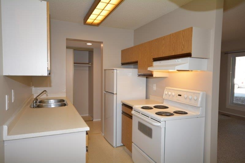 Newer appliances and refreshed cabinetry make preparing meals easy and a joy.