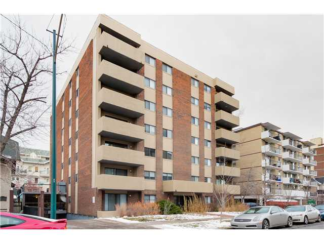 Main Photo: 305 1234 14 Avenue SW in Calgary: Connaught Condo for sale : MLS®# C3645863