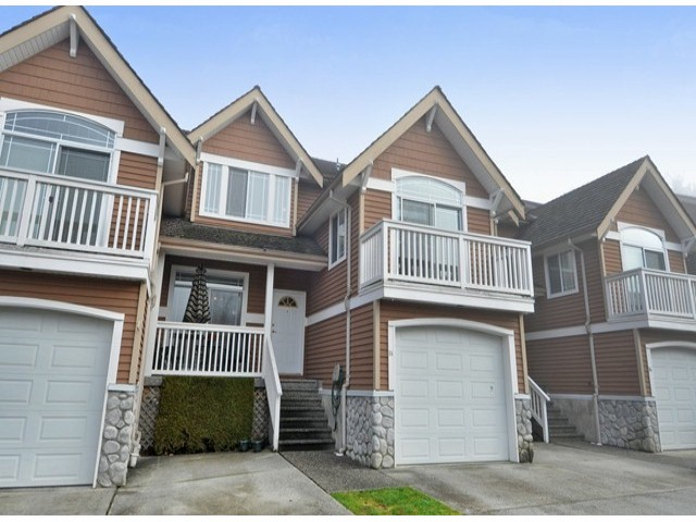 "Main Photo: 15 1506 EAGLE MOUNTAIN Drive in Coquitlam: Westwood Plateau Townhouse for sale in ""RIVER ROCK"" : MLS® # V1099856"