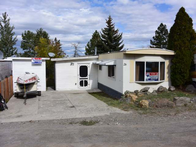 Main Photo: 26 1680 LAC LE JEUNE ROAD in : Knutsford-Lac Le Jeune Mobile for sale (Kamloops)  : MLS® # 130951