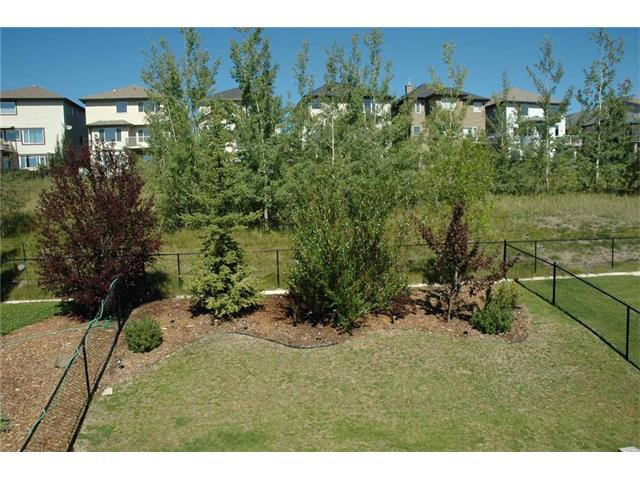 Large poplar trees at this edge of the green space provide good privacy summer and winter!