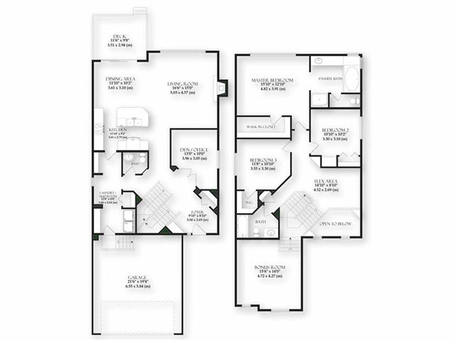 Floor Plan - Professionally measured.