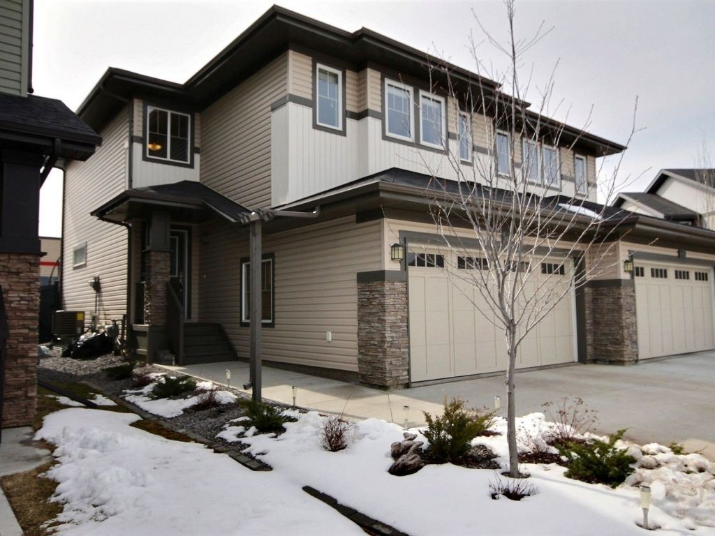 Main Photo: 3893 Gallinger Loop in Edmonton: Zone 58 House Half Duplex for sale : MLS(r) # E4064434