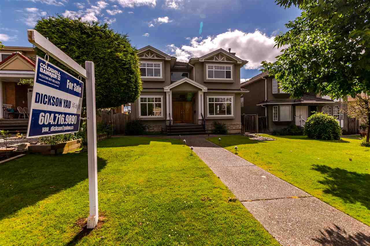 Main Photo: 8188 SELKIRK Street in Vancouver: Marpole House for sale (Vancouver West)  : MLS® # R2178961