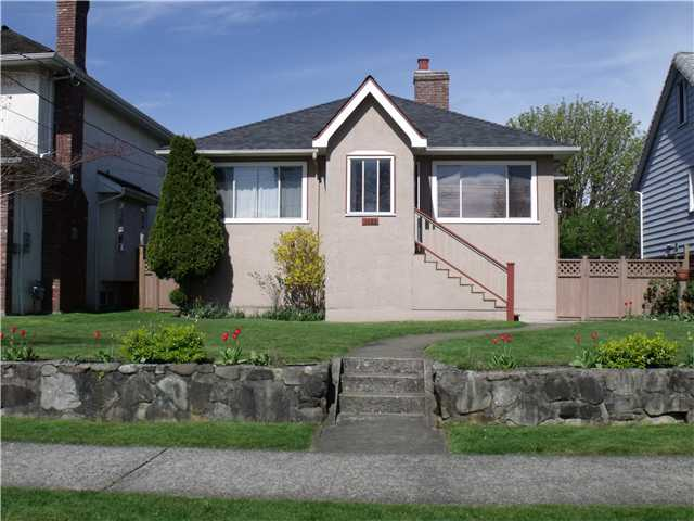 Main Photo: 1425 DUBLIN Street in New Westminster: West End NW House for sale : MLS® # V1001551