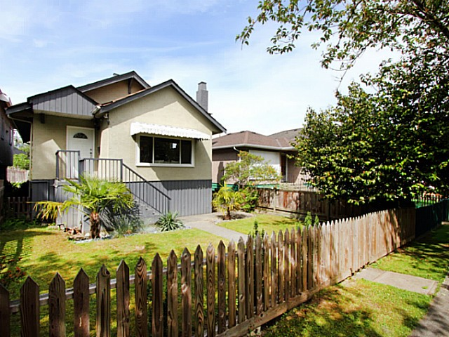 "Main Photo: 1343 E 21ST Avenue in Vancouver: Knight House for sale in ""Cedar Cottage"" (Vancouver East)  : MLS® # V1066067"