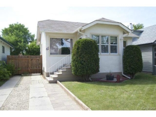 Main Photo: 216 Rutland Street in WINNIPEG: St James Residential for sale (West Winnipeg)  : MLS® # 1414398