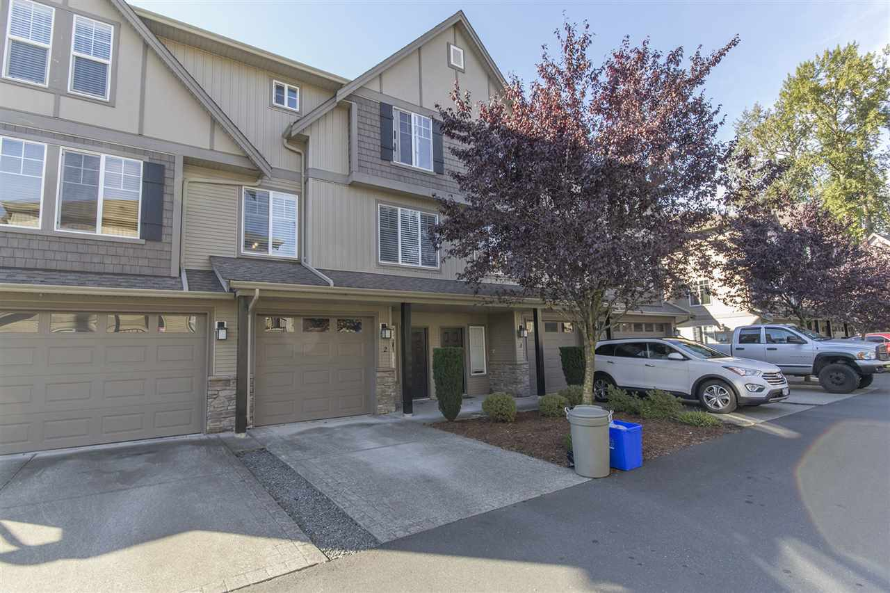 Main Photo: 3 46321 CESSNA Drive in Chilliwack: Chilliwack E Young-Yale Townhouse for sale : MLS®# R2116300