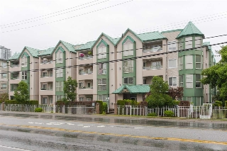 "Main Photo: 214 10128 132 Street in Surrey: Whalley Condo for sale in ""MELROSE GARDENS"" (North Surrey)  : MLS® # R2181452"