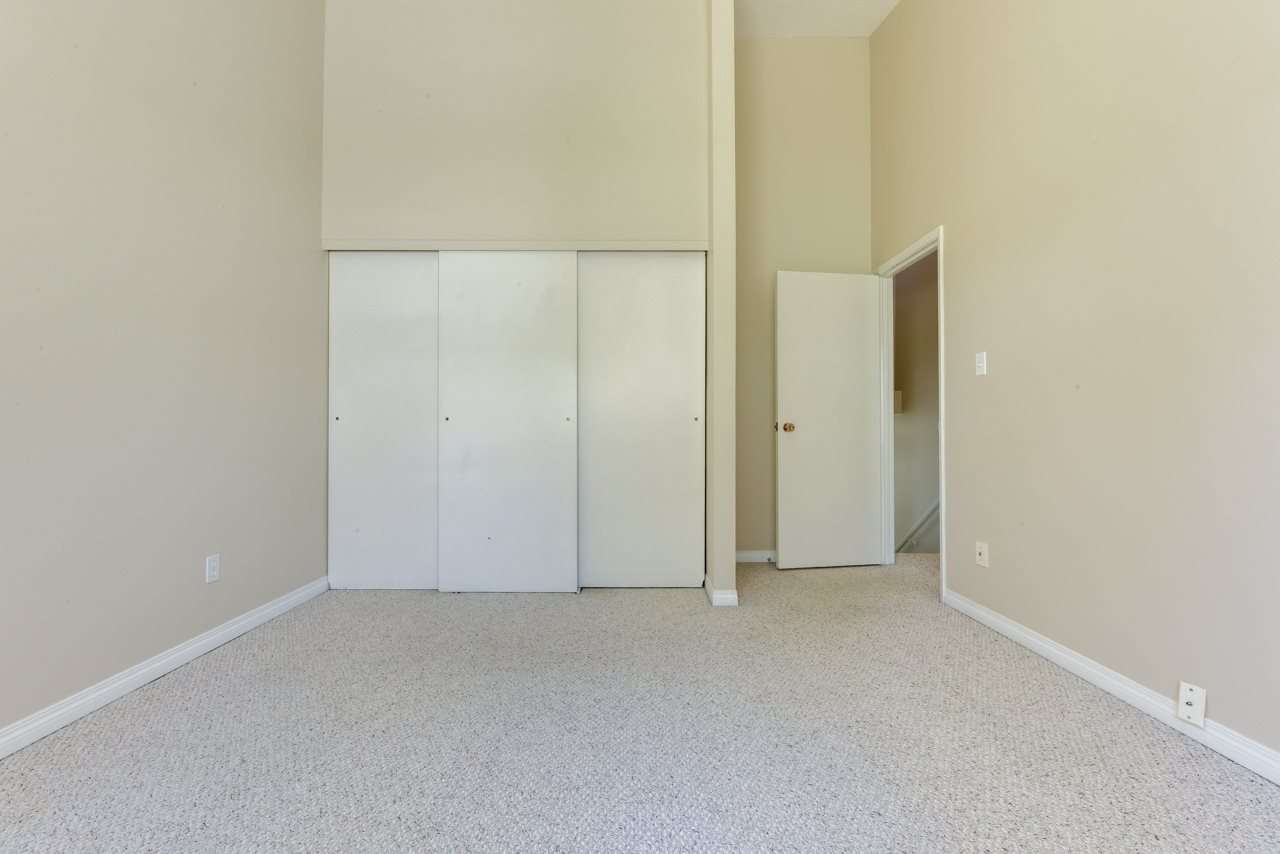 Large Master with Vaulted Ceiling and Double Closet