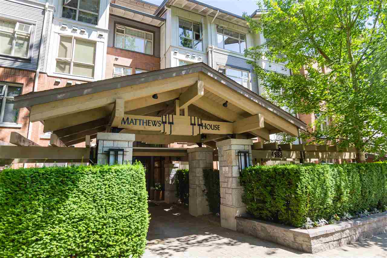 "Main Photo: 315 4883 MACLURE Mews in Vancouver: Quilchena Condo for sale in ""MATTHEWS HOUSE by Polygon"" (Vancouver West)  : MLS(r) # R2192150"