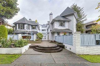 "Main Photo: 108 8772 SW MARINE Drive in Vancouver: Marpole Townhouse for sale in ""Gulf View Court"" (Vancouver West)  : MLS® # R2214775"