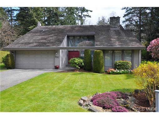 Main Photo: 997 Amblewood Court in : SE Sunnymead Single Family Detached for sale (Saanich East)  : MLS® # 292067